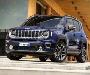 Facelift Modell Jeep Renegade 2019